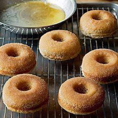 Cinnamon Baked Donuts