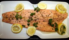 In the kitchen with Nick ...: Keep it Steelhead simple...