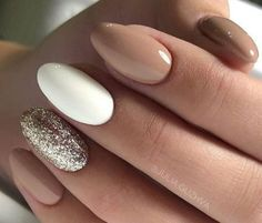 Make an original manicure for Valentine's Day - My Nails Nude Nails, My Nails, Nagellack Design, Acryl Nails, Nagel Hacks, Diva Nails, Cute Acrylic Nails, Stylish Nails, Powder Nails