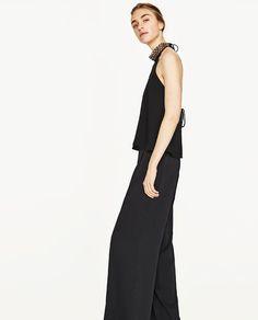 Image 5 of HALTER NECK TOP from Zara