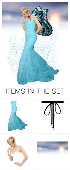 """""""Mariposa"""" by rubysal ❤ liked on Polyvore featuring art and mariposa"""