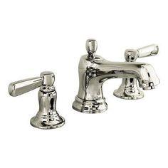 For master bath? -- Kohler 10577-4 Bancroft Widespread Faucet polished nickel