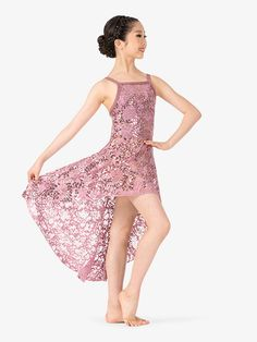 Biggest dancewear mega store offering brand dance and ballet shoes, dance clothing, recital costumes, dance tights. Shop all pointe shoe brands and dance wear at the lowest price. Dance Moms Costumes, Modern Dance Costume, Dance Outfits, Dance Dresses, Dance Tights, Ballet, Lace Camisole, Asymmetrical Skirt, Stunning Dresses