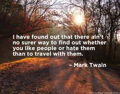 Travel Quote by Mark Twain