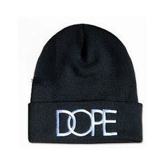 2c786c16c20 Dope beanie hat ( 15) ❤ liked on Polyvore featuring accessories