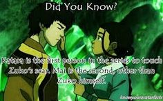 I still ship Maiko. But that could have been a sweet moment had Zuko not ruined it by joining Azula.