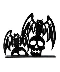 Love this Spooky Silhouettes Block on #zulily! #zulilyfinds