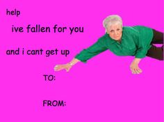 39 Absolutely Perfect Comic Sans Valentine's Day Cards.  #lifealert