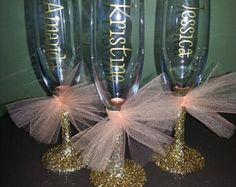 Wedding Gifts For Bride And Groom Bridesmaid Glitter Stemmed Champagne Flutes; Bride and Groom Glasses/Flutes, Bridesmaids, Mothers of Bride/Groom, Champagne Flutes Bride And Groom Glasses, Wedding Glasses, Wedding Favors, Wedding Gifts, Bride Groom, Wedding 2017, Our Wedding, Dream Wedding, Perfect Wedding