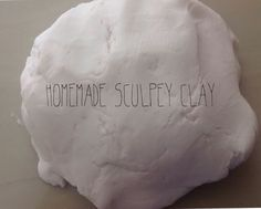 Sculpey clay is expensive, that's why I used this recipe