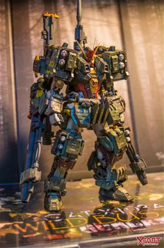 AMAZING WORK: WILD BUSTER GUNDAM CUSTOM! Full Photoreview No.39 Full Size Images http://www.gunjap.net/site/?p=236942