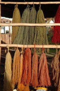 How to make and use natural dyes