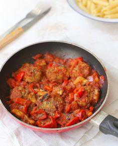 Griekse kofta - Flaironline - Voor jou, over jou - WordPress Website Dutch Recipes, Turkish Recipes, Greek Recipes, Ethnic Recipes, A Food, Good Food, Food And Drink, How To Cook Rice, Greek
