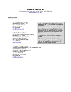 Resume Reference Page Template Professional Actor Resume  Httpwwwresumecareer