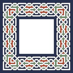 Islamic Patterns and Geometric Tessellations Geometric Designs, Geometric Shapes, Islamic Designs, Border Pattern, Pattern Art, Islamic Art Pattern, Turkish Art, Principles Of Design, Moroccan Design