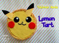 Una torta perfetta per gli amanti di Pikachu e POkemon GO! :D Perfect cake for all Pokemon lovers out there. Pikachu Lemon Tart: easy to make and ever so cute! #pikachu #torta #cake #pokemon #recipe