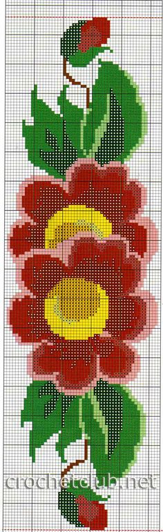 салфетка с яркими цветами 3