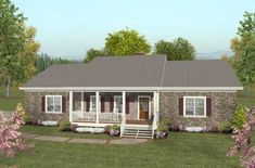 Country Style Floor Plans Plan: 4-276