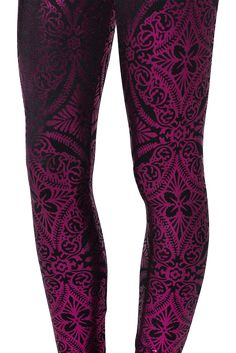 Geometric Floral Pink Leggings - LIMITED by Black Milk Clothing $80AUD ✔️