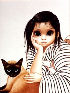 'Ladies in Waiting' by Margaret Keane