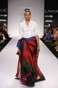 Payal Khandwala Lakme Fashion Week S/R 2014