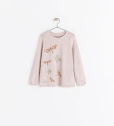 ZARA - COLLECTION AW14 - SEQUIN T-SHIRT