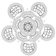 Ivelise Feito à Mão: Flores De Crochê.......