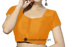 D Maroon  Ready Made Blouse Indian Choli Bollywood Banglori Silk Blouse TOP RB02