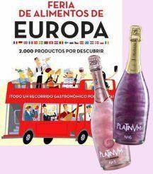 Feria de Alimentos de Europa de El Corte Inglés. marzo 2016