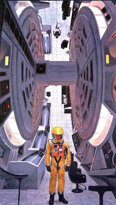 2001 A SPACE ODYSSEY Art by Bob McCall