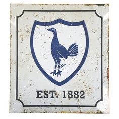 Discover the original Tottenham Hotspur F. Retro Logo Sign at a special price: buy it now on MerchandisingPlaza in the comfort of your own home! Tottenham Hotspur Football, White Hart Lane, Logo Sign, Room Signs, Artsy Fartsy, Retro, Logos, Cards, Gifts