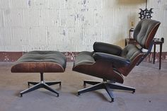 All sizes | Tenacious Charles And Ray Eames Vintage Rosewood Lounge Chair Model 670 and Ottoman 671 for Herman Miller (U.S.A. 1975) | Flickr - Photo Sharing!