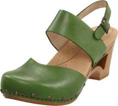 green danskos. My nurse practitioner just recommended Danskos for my wonky feet.