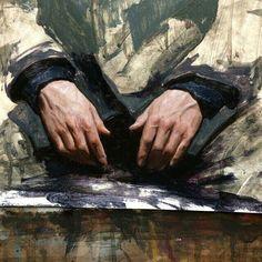 Do not know artist name Figure Painting, Figure Drawing, Painting & Drawing, Traditional Paintings, Traditional Art, Drawn Art, Academic Art, Great Paintings, Dark Paintings