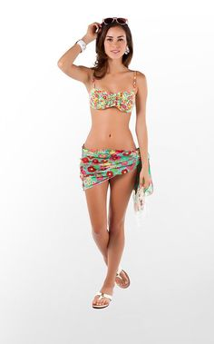 Keene Ruffle Bandeau from Lilly Pulitzer – ruffled and cute!