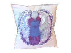 Skarabeusz  ręcznie malowany 45x45 w W.pelni Design na DaWanda.com