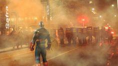 Publicitários põem super-heróis para participar dos protestos brasileiros.  Advertisers put superheroes to join the protests Brazilians.   Brasil 2013