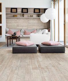 Cornish Driftwood Light beach house effect flooring from topps tiles uk