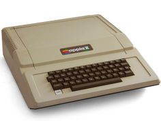 The Apple II was one of the first computer with a color display, and it has the BASIC programming language built-in, so it is ready-to-run right out of the box. The Apple II was probably the first user-friendly system. Apple Headquarters, Computing Display, Apple Iic, Alter Computer, Ipod, Microsoft, Basic Programming, Computer Programming, Old Computers