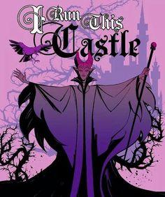 Disney Maleficent I Run This Castle Throw Finish ThrowDisney Maleficent I Run This Castle Throw Finish Throw, Evil Disney, Disney Maleficent, Dark Disney, Disney And More, Disney Villains, Disney Girls, Disney Love, Disney Pixar, Disney Characters