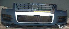 Бампер, усилитель, спойлер Volkswagen touareg I