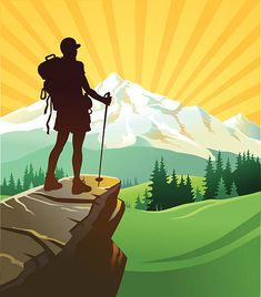 60 ilustraciones, clipart, dibujos animados e iconos de stock de gran calidad de Hiking - Getty Images Mountain Illustration, Flat Design Illustration, Travel Illustration, Hiking Logo, Mountain Drawing, Silhouette Png, Graffiti Painting, Girly Drawings, Art Activities For Kids