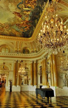 The Great Assembly Hall - The Royal Castle, Warsaw