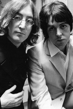 "mclennonradio: "" John Lennon & Paul McCartney, Mad Day Out, "" Ringo Starr, John Lennon Paul Mccartney, John Lennon Beatles, Jon Lennon, Beatles Art, Amy Winehouse, Comic Cat, Sir Paul, John Paul"