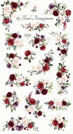 25 ideas vintage flowers illustration roses decoupage for 2019 Rose Illustration, Graphic Illustration, Floral Illustrations, Watercolor Rose, Watercolor Pattern, Watercolor Background, Watercolor Wedding, Wreath Watercolor, Watercolor Ideas