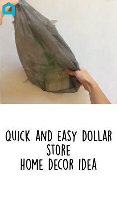 Diy Crafts For Home Decor, Diy Crafts To Do, Diy Crafts Hacks, Diy Arts And Crafts, Diy Projects, Diys, Dollar Tree Decor, Dollar Tree Crafts, Dollar Store Hacks