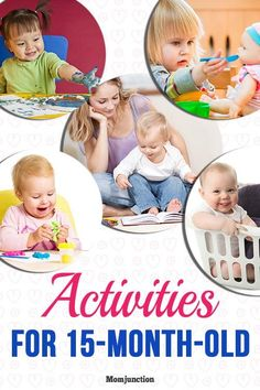13 Interesting Activities For Your 15-Month-Old Baby