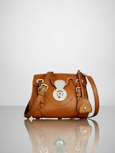 Calfskin Ricky 18 Cross-Body - Ralph Lauren Handbags Handbags - RalphLauren.com  Ralph c2c445b5a8b84