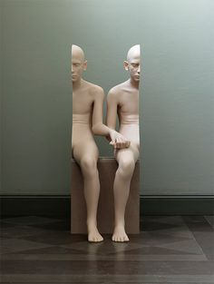 Surreal Human Sculptures by Anders Krisár