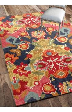 Cheap but ADORABLE rugs. You can always find a coupon for this place if you google it. I just got the rug in the pic for $61 on sale from $241.